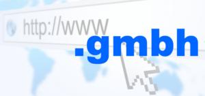 Domains mit Endung .GMBH jetzt registrierbar